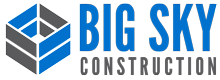 Big Sky Construction Co. Inc. Retina Logo